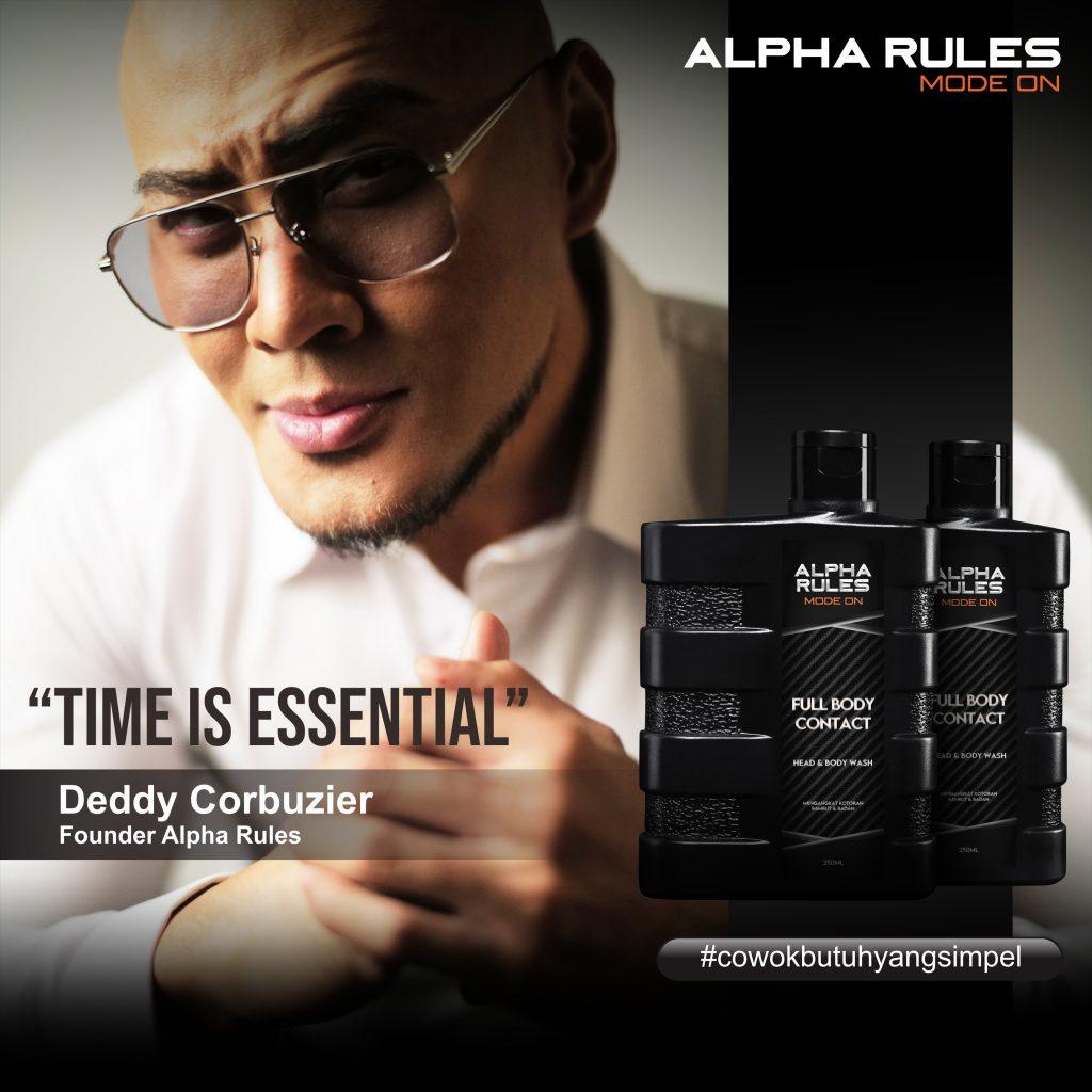 Alpha Rules Deddy Corbuzier